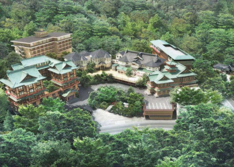 約翰藍儂也住過這?箱根「富士屋飯店」懷舊魅力大公開!