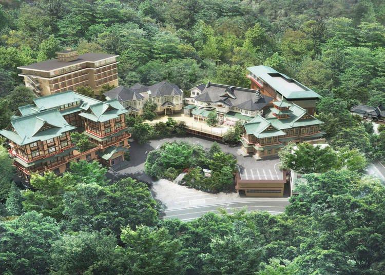 富士屋飯店改建加強建築物安全!維護日本有形文化財的歷史氛圍