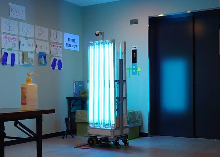 Medical Facilities: Remote controlled sterilization
