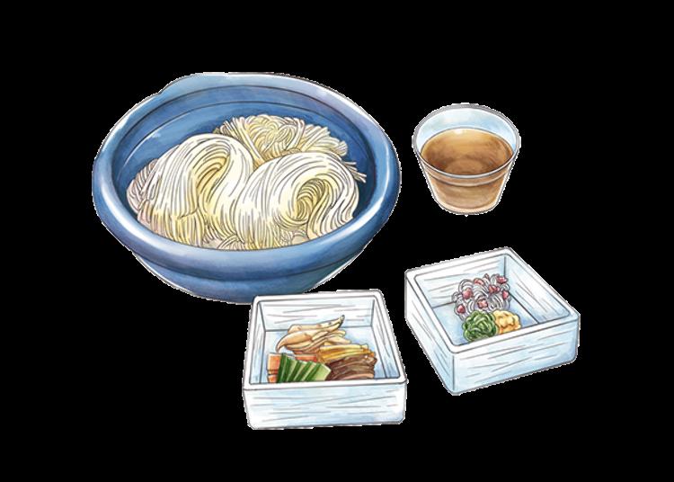 Japanese Soul Food: Star Struck Tanabata Noodles in July
