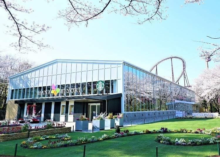 溫室&遊樂園,讀賣樂園有趣的植物園「HANA・BIYORI」!