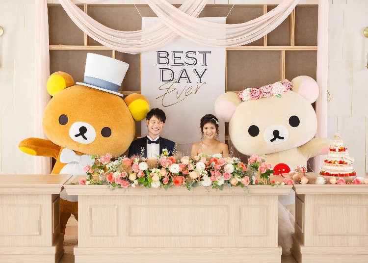 Japan Rilakkuma Wedding Plan Features Elegant Decorations, Complete With Fancy Rilakkuma Cake