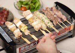 一秒讓你家變日本居酒屋!日式串燒機「屋台橫丁」一台多用,想吃串燒不求人~