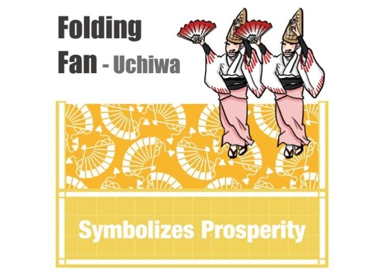 Folding Fan - Uchiwa