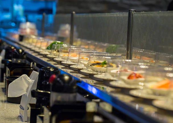 寿司の食べ放題でラーメン!? メニューが豊富で楽しい