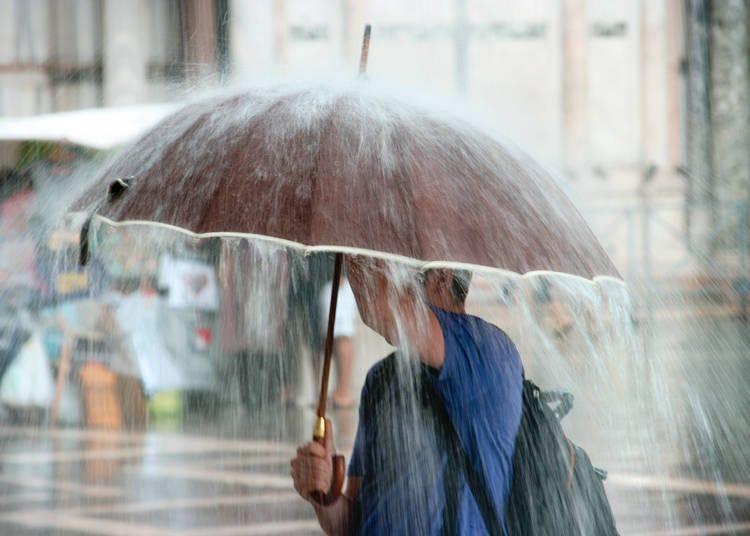 ゲリラ豪雨に台風。夏がこんなに大荒れ天気なんて!