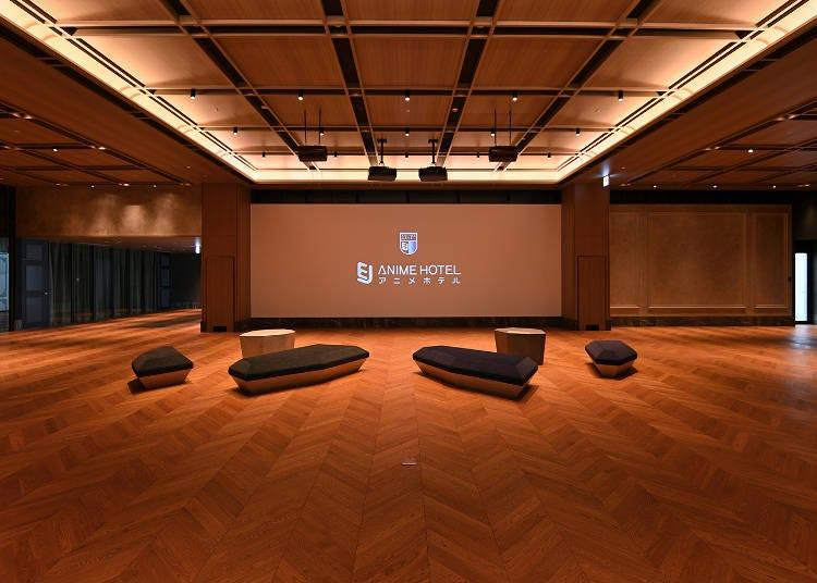 大型プロジェクターのプライベート空間で動画鑑賞!「EJアニメホテル」