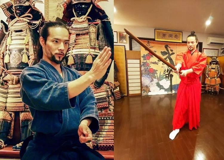 ⑤:Learn and Train with Samurai in Tokyo(東京のサムライと学んで稽古しよう)