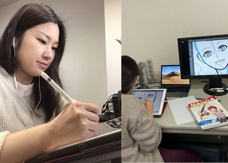 线上体验日本文化③职业漫画家手把手教你!漫画人物绘画教学