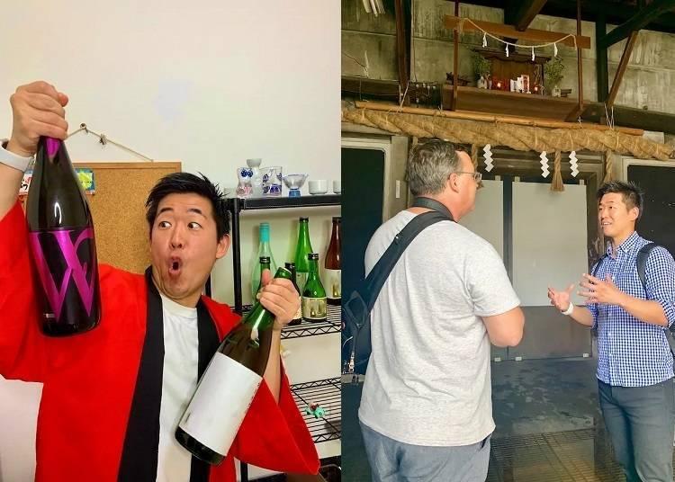 线上体验日本文化④东京酒蔵第二十三代当主亲自讲解!初学者也能上的日本酒入门讲座