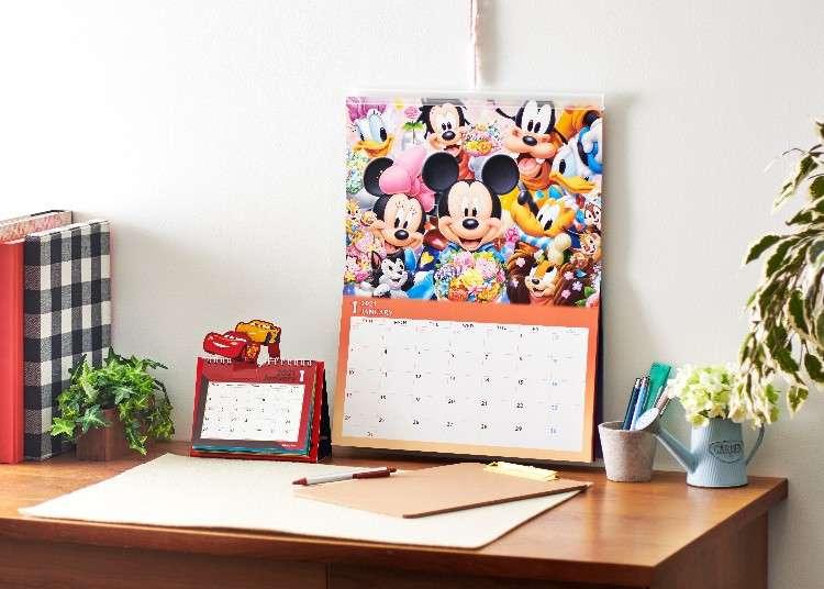 迪士尼陪你迎接新的一年!多種角色2021年月曆&行事曆熱鬧登場!
