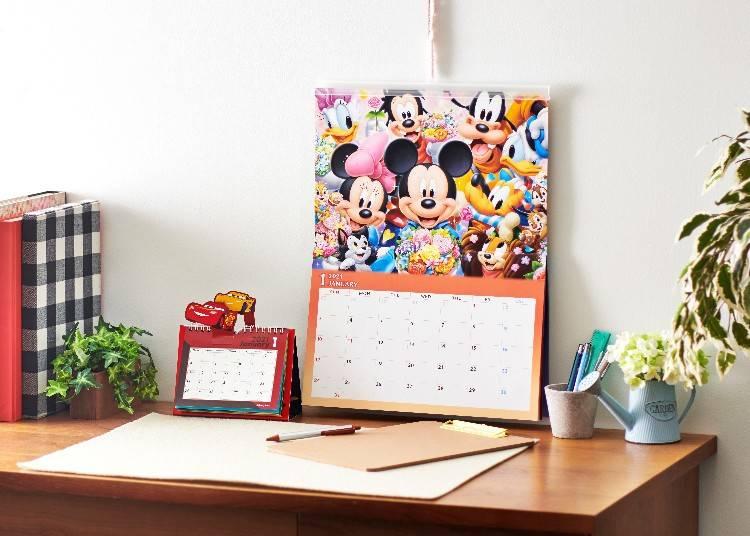 也可以當作行事曆使用的桌上型月曆!多種月曆一次介紹