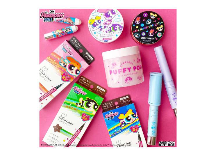 飛天小女警幫你對抗臉上小瑕疵!日本人氣品牌PLAZA聯名,全新商品粉嫩登場!