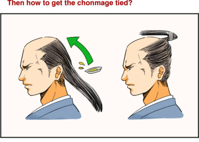 Japanese Honorable Hairstyle The Origin Of The Samurai S Chonmage Live Japan Travel Guide
