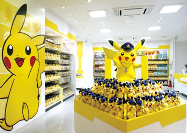 [도쿄쇼핑]도쿄에 있는 포켓몬 오피셜 샵 5곳! 포켓몬 센터를 포함한 다양한 곳의 포켓몬 상품 소개