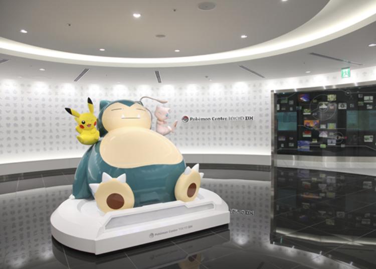 1. Pokémon Center Tokyo DX & Pokémon Cafe (Nihonbashi Takashimaya S.C.)