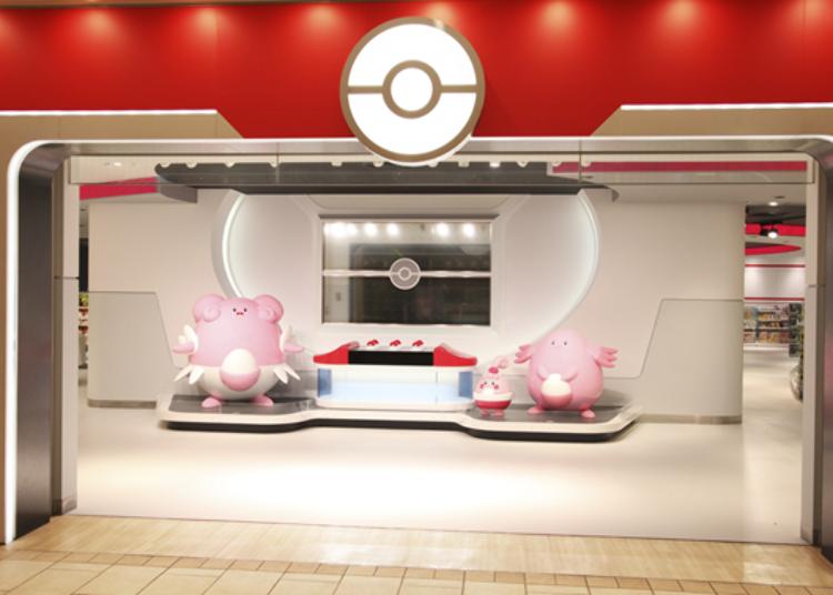 2. Pokémon Center Mega Tokyo & Pikachu Sweets by Pokémon Cafe (Ikebukuro Sunshine City)