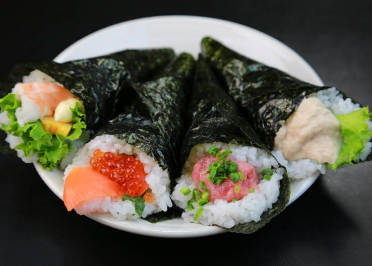Make sushi rolls at home!