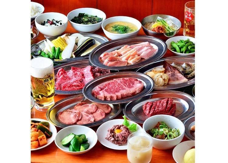 「燒肉 風風亭」主打燒肉吃到飽方案!