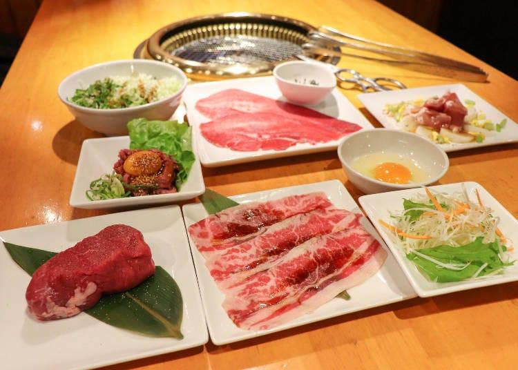 「燒肉 風風亭」2980日圓吃到飽基本方案,超多種類讓你眼花撩亂!