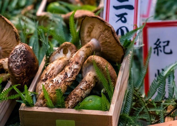 Japanese autumn cuisine is the best!