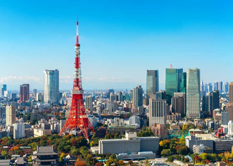도쿄여행 - 도쿄의 볼거리 33곳 소개! 도쿄 여행 코스에 참고하자