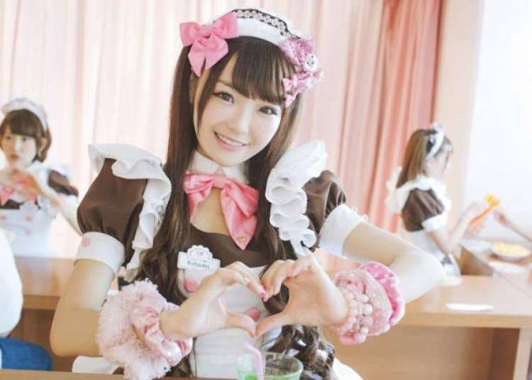 15. Experience a maid café in Akihabara