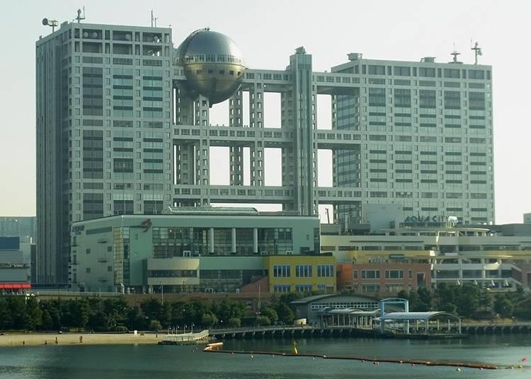 20. Odaiba Seaside Park