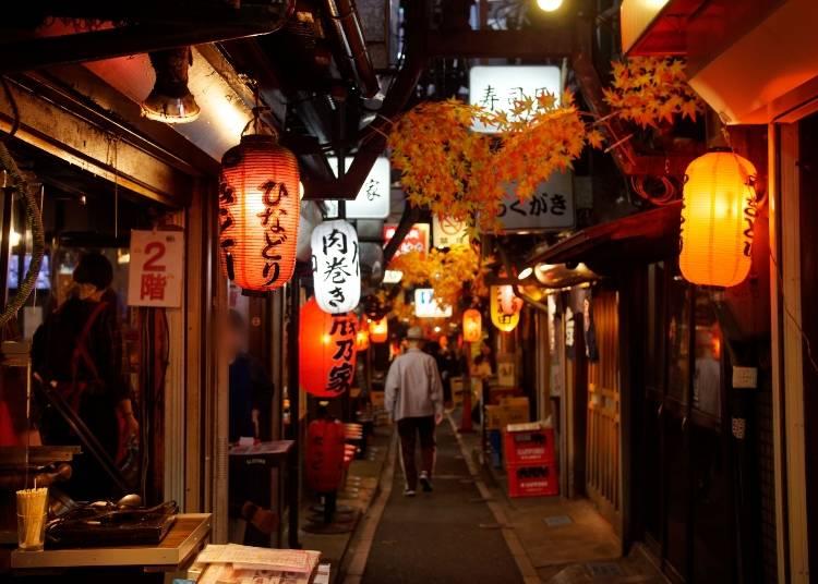 1.古きよき居酒屋文化を体験する