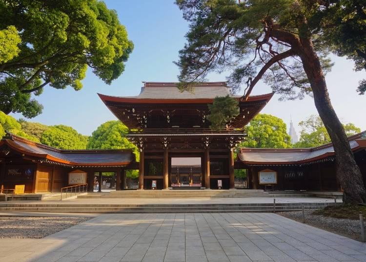 6.神社に行って神聖な気分を味わう