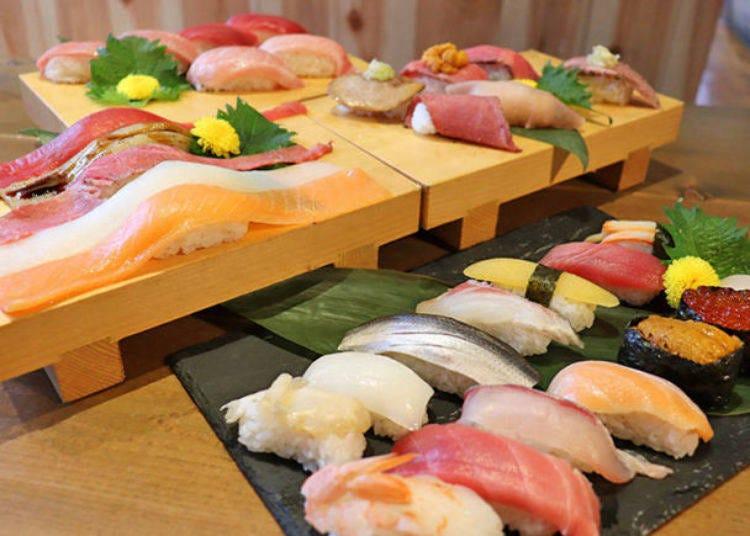 12.本場のお寿司をリーズナブルに堪能する
