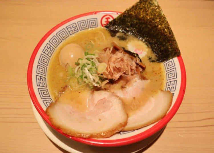16.東京限定のラーメンを食べる