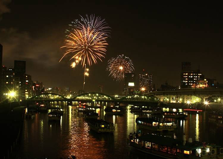 31.스미다강 불꽃놀이 축제