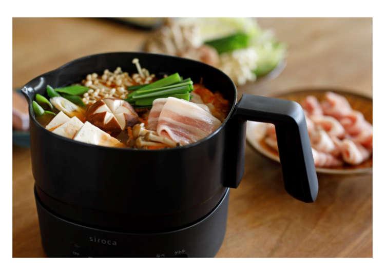 懶人神器!日本萬能料理熱水壺,吃麵、吃火鍋隨時都能做~