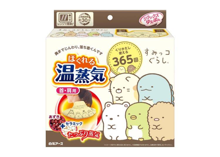 Relax Yutapon溫蒸氣 角落小夥伴包裝 商品資訊