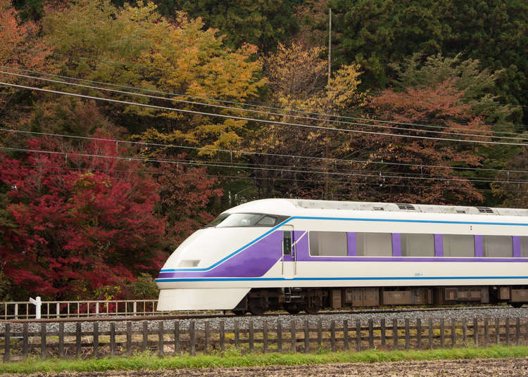 50% OFF Campaign! Enjoy Nikko and Kinugawa this Autumn via the Tobu Line Limited Express