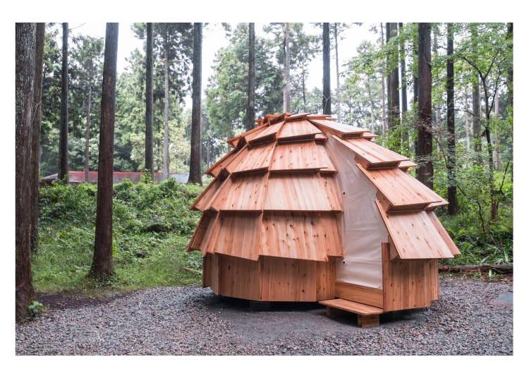 不是帳篷也不是小木屋?!「camp pod」新型住宿體驗