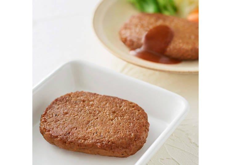 1. Soy Hamburger Steak - 290 yen each