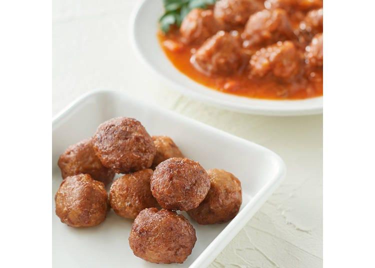2. Soy Meatballs - 290 yen per serving (80g)