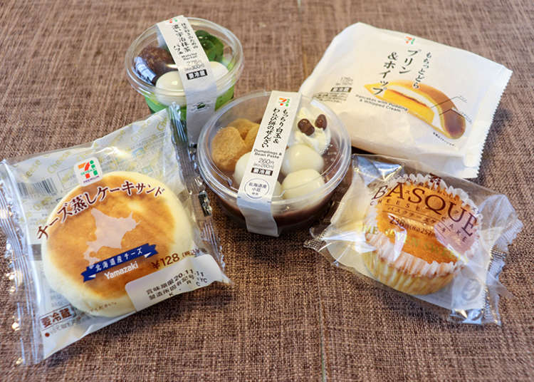 Delicious, Convenient, and Cheap! 5 Must-Try 7-Eleven Sweets! | LIVE JAPAN travel guide