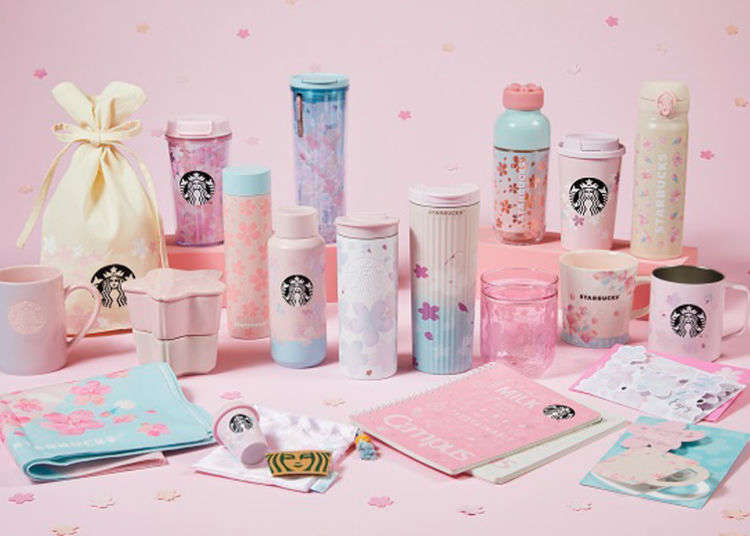 Starbucks Japan unveils sakura cherry blossom drinkware range for 2021