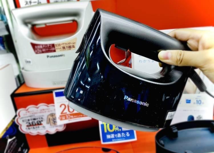 6. Panasonic Garment Steamer