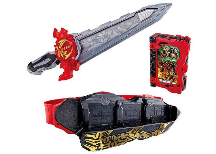 "7. Bandai ""Transformation Belt DX Seiken Sword Driver"""