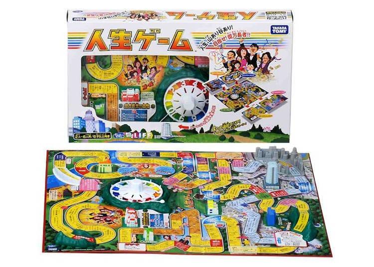 8. Takara Tomy--The Game of Life