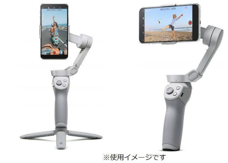 3. 生活超充实的朋友们需要这个! DJI「手机三轴稳定器」/Panasonic「2in1蒸汽电熨斗」