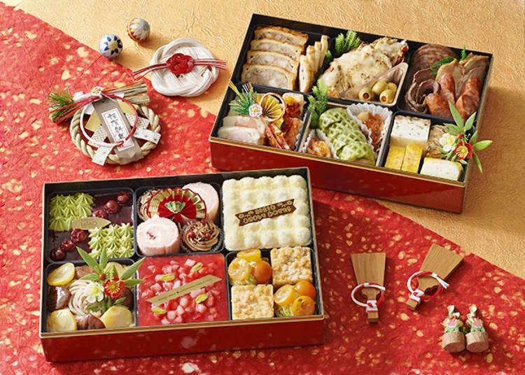 1. Hokkaido's Famous Western Confectionery Brand LeTAO's Delica & Sweets Premium Osechi 2021