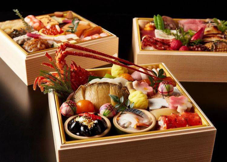 5. First Class Hotel Ritz-Carlton Tokyo's Authentic Japanese Osechi Made with the Finest Ingredients