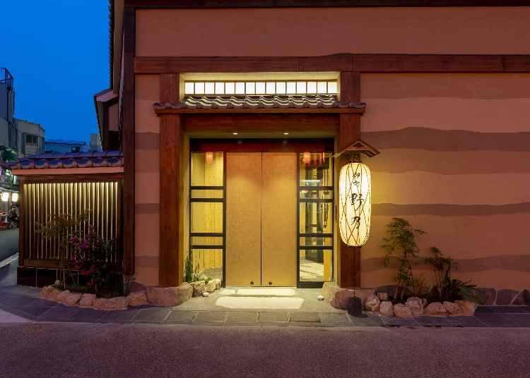 2.都会で本格的な温泉&旅館気分が味わえる「凌雲の湯 御宿 野乃 浅草」