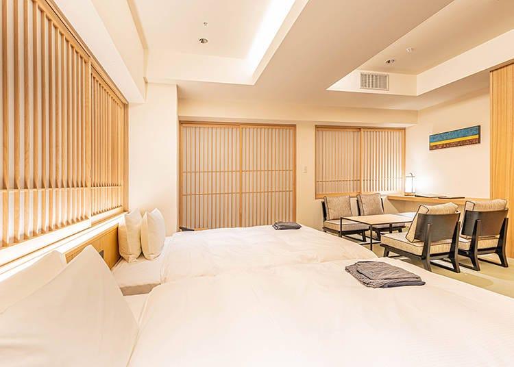 4.旅館ならではの心地よさ&ホテルの機能性が備わった「プロスタイル旅館」