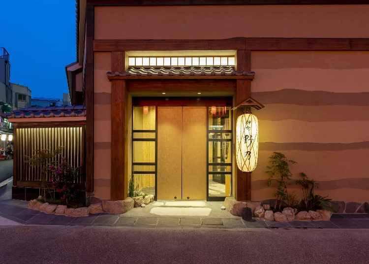 2. 在大城市中也能体验日式温泉旅馆氛围「凌云之汤 御宿 野乃 浅草」